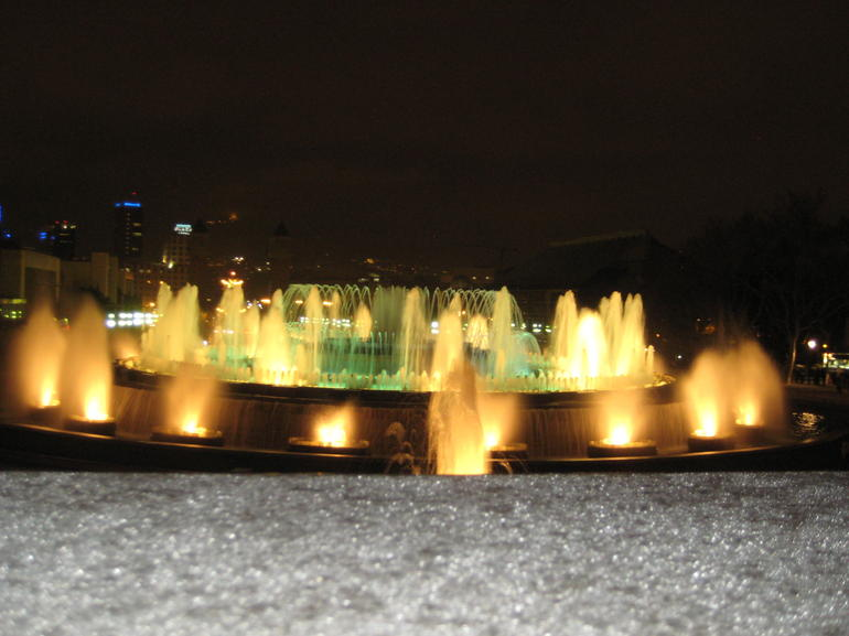 Magic Fountains 4 - Barcelona