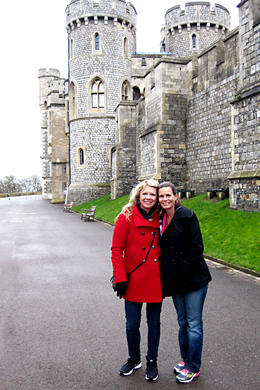 At Windsor Castle , Crystal L - March 2013