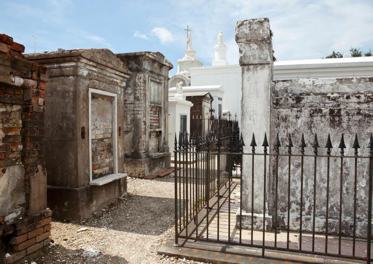 Old Cemetery in New Orleans - New Orleans