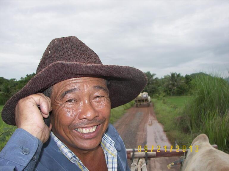 Ox cart driver - Bangkok
