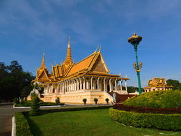 The Royal Palace in Phnom Penh is still the residence of the King of Cambodia. , Kevin F - December 2014