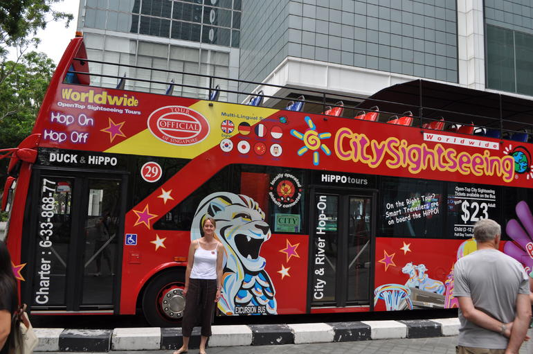 Singapore hop on hop off depot - Singapore
