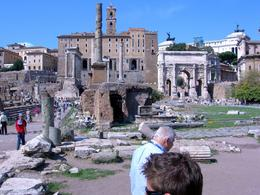 This guide went through the various buildings and their function meticulously, such things as the Roman treasury, the place where Julius Caesar's body had been cremated. (Romans still bring flowers ... , WILLIAM B - October 2008