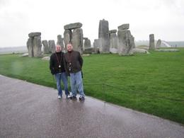 Tyler & Marc at Stonehenge, Nathan Tyler S - December 2009