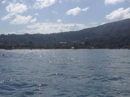 This was taken right after we left the dock - great view from the water of Ocho Rios., Katiemo - February 2014