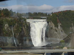 Montmorency Falls from afar. , wrhesson - December 2016