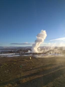 The Geyser as it went off , Andrew M - February 2017