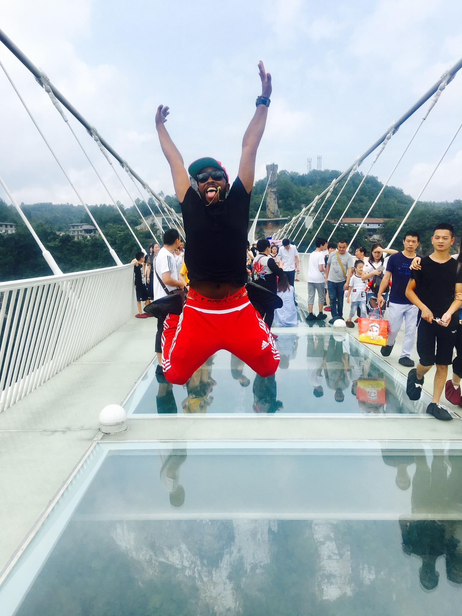 MÁS FOTOS, Excursión privada: Puente de cristal y lago Baofeng desde Zhangjiajie