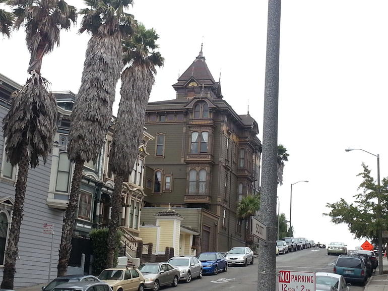 Addams Family house - San Francisco