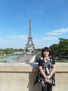 I love Eiffel Tower, Paris France , Boi Kui C - June 2015