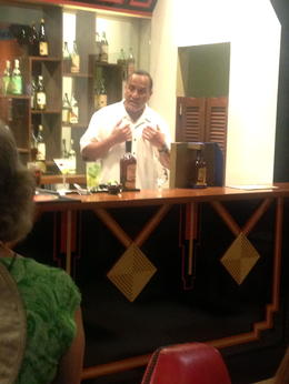 Favorite part of the Bacardi factory was the mixology lesson! , lynne a A - July 2014