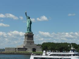 Fantastic to see the iconic Statue of Liberty close up., Laura W - July 2010