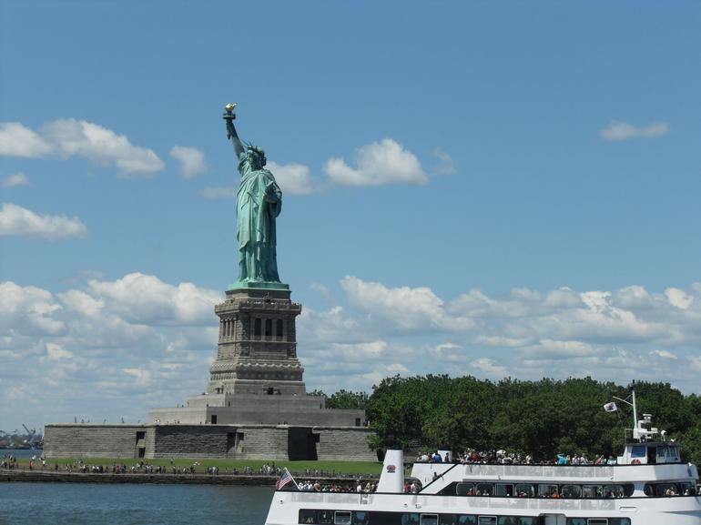 Boat trip to Liberty Island - New York City