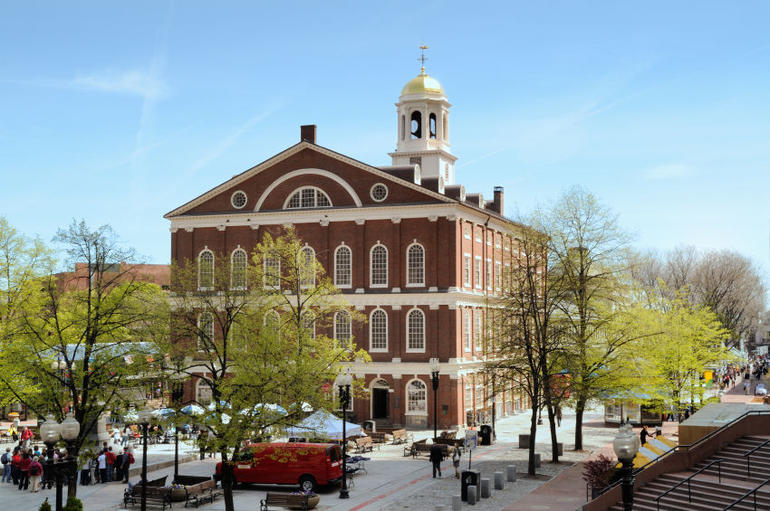 Faneuil Hall Market Place - Boston