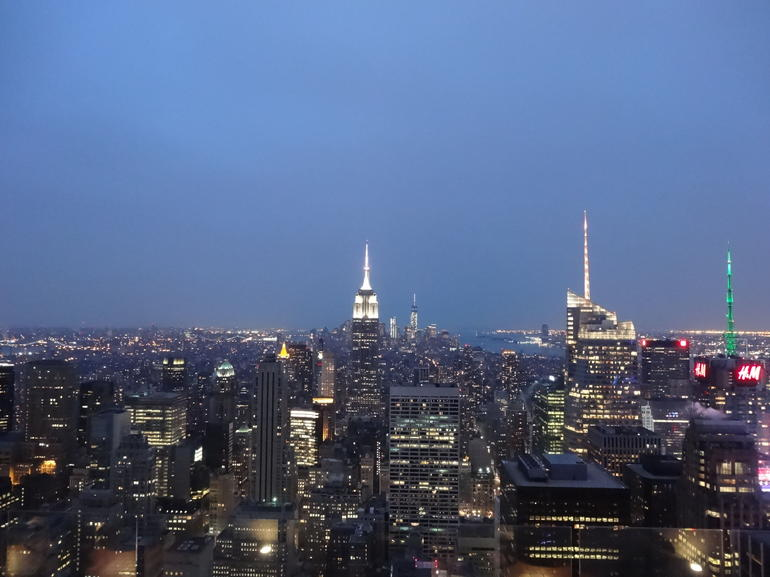 L'ESB � la nuit tombante - New York City