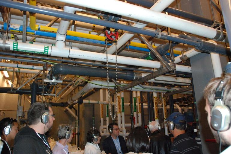 Learning the Water Filtration Process - San Francisco