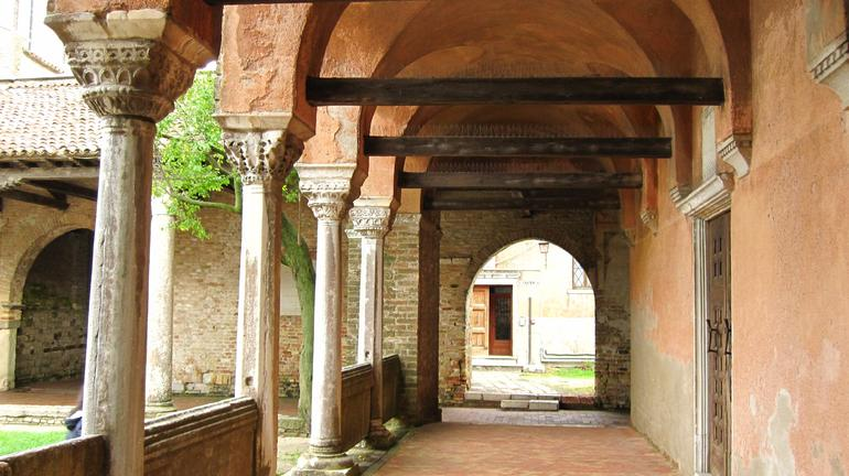 Medieval church in Tourcello - Venice
