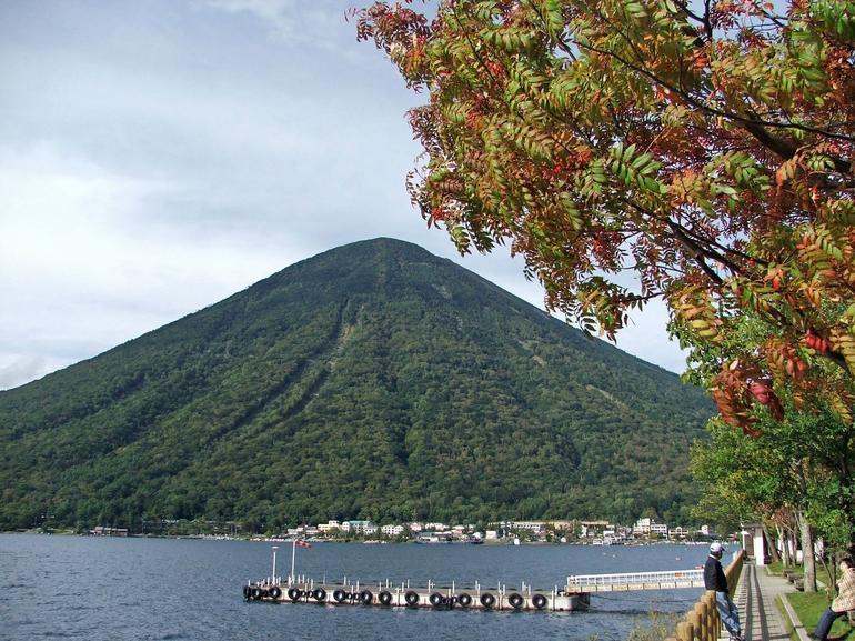 Mt Nantai from Lake Chuzenji - Tokyo