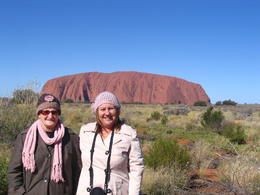 Mum and I at Uluru , Sandra R - June 2011