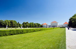 Nymphenburg Palace in Munich in spring. - May 2011