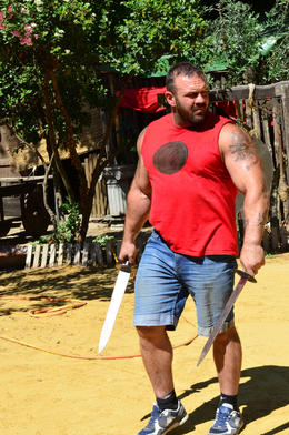 learning how to sword fight, Jeff - July 2013
