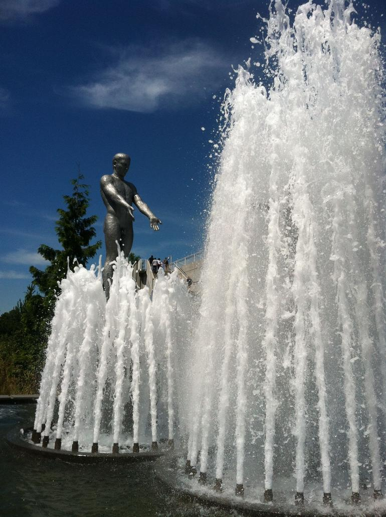 The Sculpture Park, an interesting stop along the tour. - Seattle