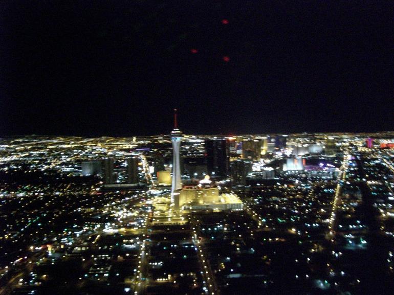 The Vegas Strip at Night - Las Vegas