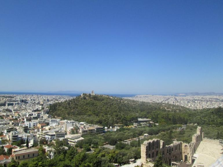 View from the Acropolis - Athens