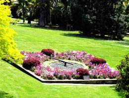 Floral clock in the Botanical Gardens , Tatyana T - November 2016