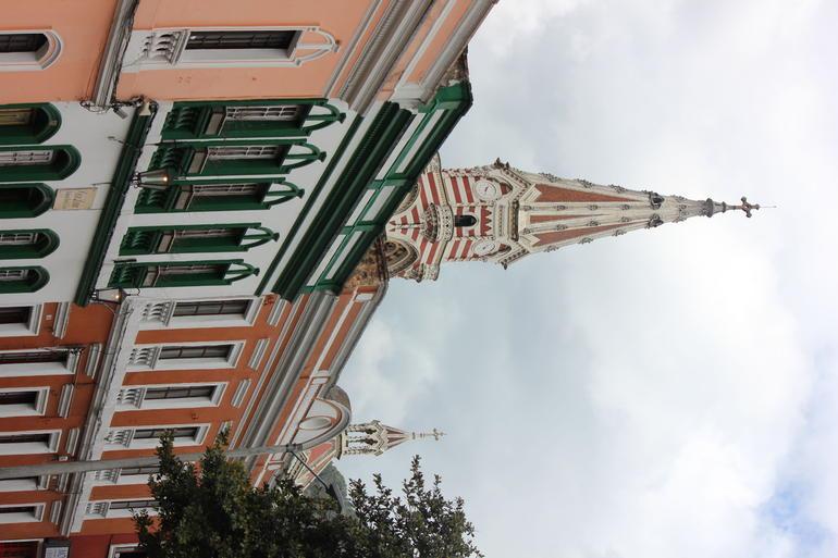 Architectural Contrast - Bogot�
