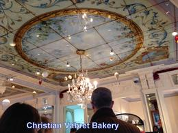 Admiring the ceilings at the boulangerie , 2nd one - January 2014