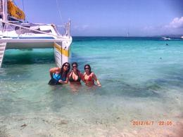 The girls and I enjoying the clear warm water , Setti89 - June 2012
