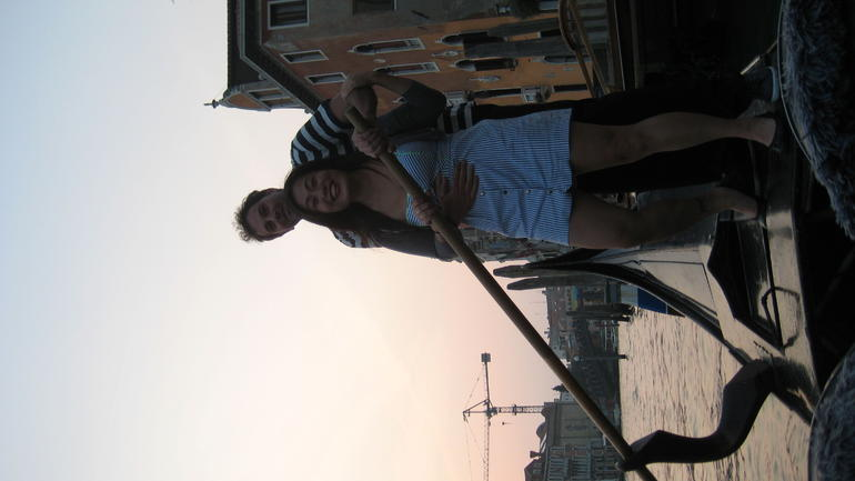 I'm the gondolier now!! - Venice