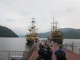 Cruise on Lake Ashi , Thurman - August 2012