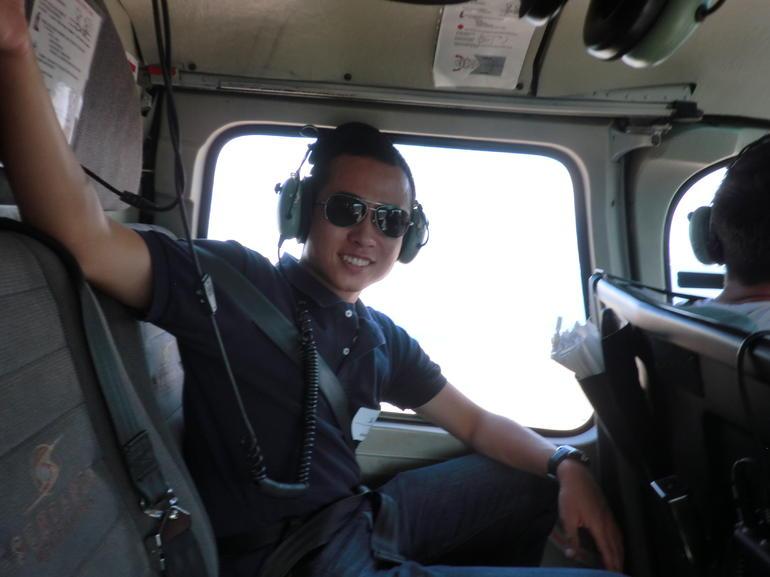 in-flight - Las Vegas