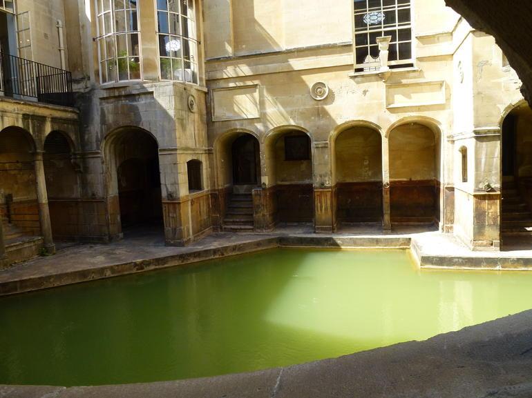 Inside Roman Baths - London