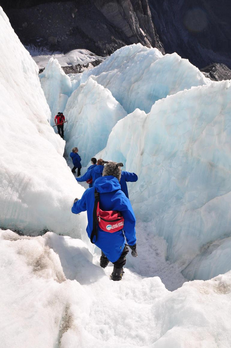 Keep moving! - Franz Josef & Fox Glacier
