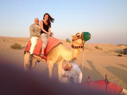 Onze zoon en dochter op de kameel , F.J.A.M. v - January 2014