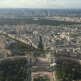 View from the top of the Eiffel Tower , Thomas C - September 2014