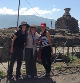 Posing in Pompeii , Amy G - May 2013