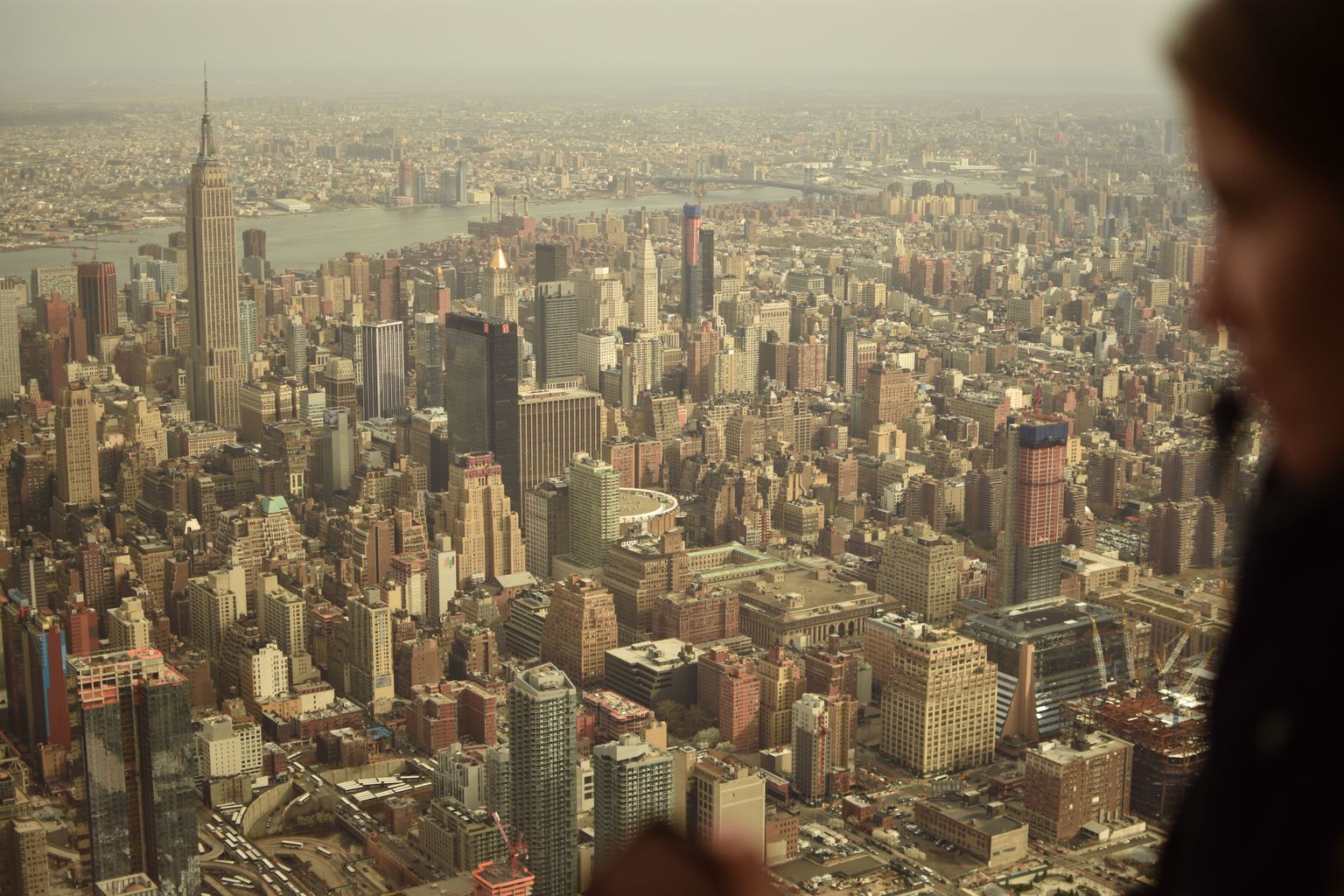 MORE PHOTOS, Helicopter flight through Manhattan, New York
