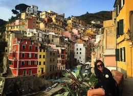 Hiking and training through the cinque terre and ending up in this magical place they call Riomaggiore , Qing E L - April 2016