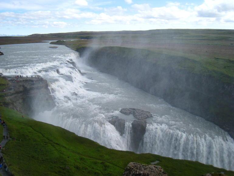 stop on the Golden Circle tour - Reykjavik