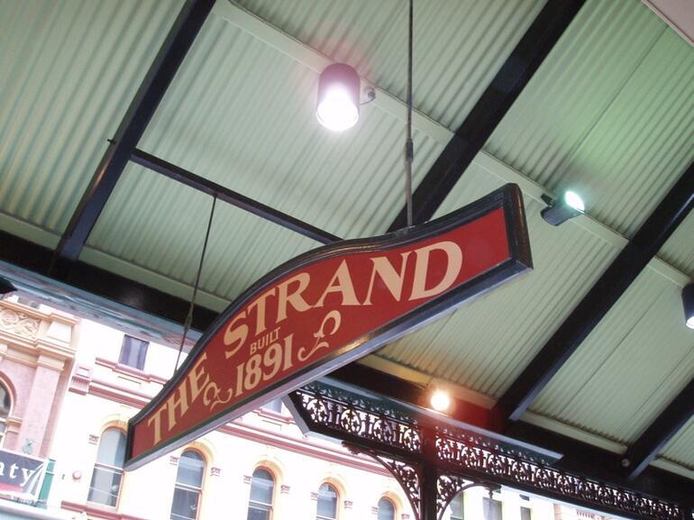 Strand Sign - Sydney