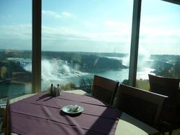 The view could be worse I guess. How about eating here overlooking Niagara Falls?, JAY W - November 2007