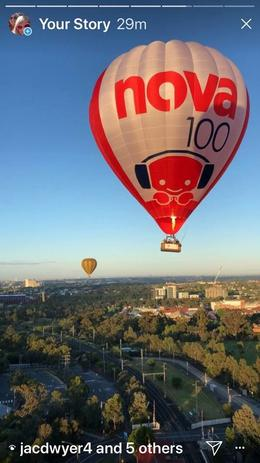 That's us in the Nova Balloon, What an awesome day it was, Just loved it xx , Mark T - December 2017