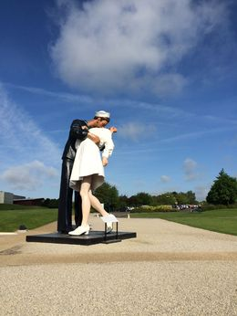 Memorial to VE-Day in front of Caen Memorial Museum , jtcnharris - May 2015