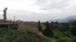 View as we exited Pompeii , Kristi J - February 2017