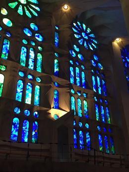 Inside La Sagrada , George K - October 2017