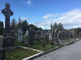 Cemetery , mynpyn - October 2017